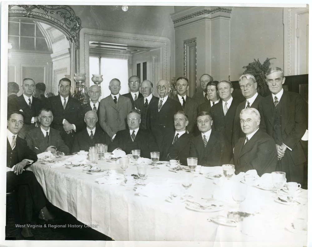 Group of Senators at a Dinner - West Virginia History OnView