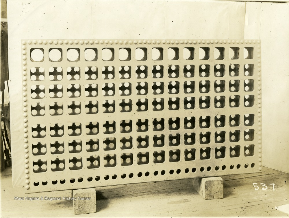 4eb6930196d Back Header of Ward Water-Tube Boiler - West Virginia History OnView ...