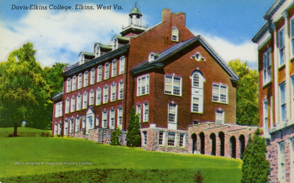 Davis And Elkins >> Davis And Elkins College Building Elkins W Va West