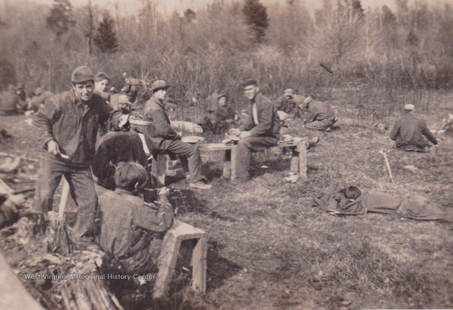 Camp Cranberry, Company 525 F-13 was part of the Civilian Conservation Corps efforts between 1933 and 1942. Enrollees were assigned forestry service jobs as well as road construction jobs and telephone line building. The camp was named after the nearby Cranberry River.
