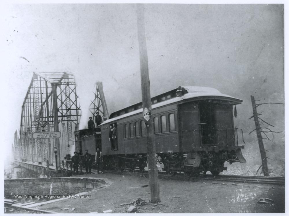 Railroad Bridge and Turntable, Thurmond, W  Va  - West