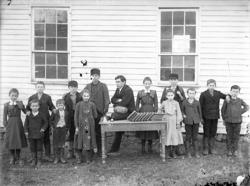 One Room School Union No 7 On Old Post Farm Good Hope W Va West Virginia History Onview Wvu Libraries