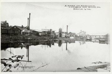 Part of Babcock Lumber and Boom Company,Davis, West Virginia.
