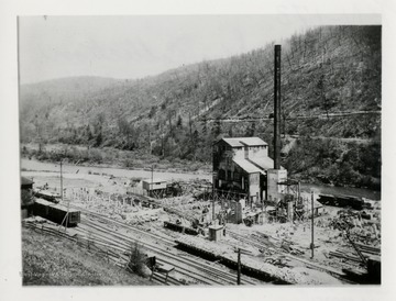 Early stage of mill construction.