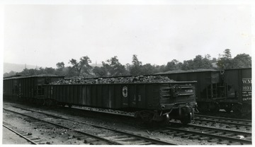 Western Maryland Coal Car No. 50519 with other cars in background.