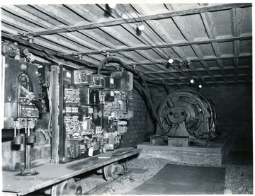 Controls at the Jamison No. 9 Mine.