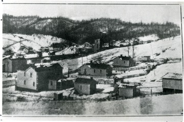 Mining town of Lochgelly in the Winter.