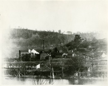 View of the Beechwood mine buildings.