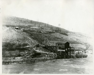 A view of the Fairmont Coal Co. West Fork Mine tipple.