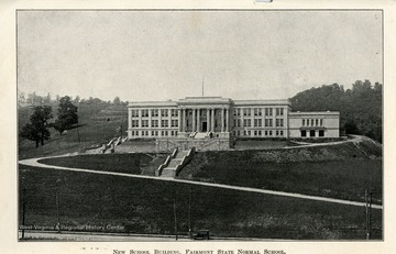 The New School Building at Fairmont State Normal School in Fairmont, West Virginia.