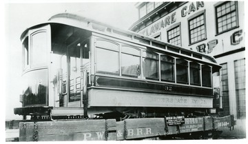 Built by Jackson  and Sharp in 1901. Car seated 28 passengers. Later became part of the Ohio Valley Electric R.R.