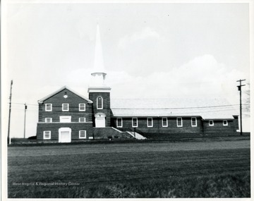 The Drummond Chapel Methodist Church on Van Voorhis Road in Morgantown, West Virginia.