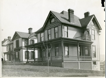 'Near University Ave - Built by S. A. Posten.'
