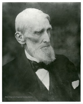A portrait of Waitman Willey of Morgantown, West Virginia.