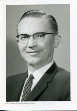 A portrait of Dr. Eston K. Feaster of Morgantown, West Virginia.