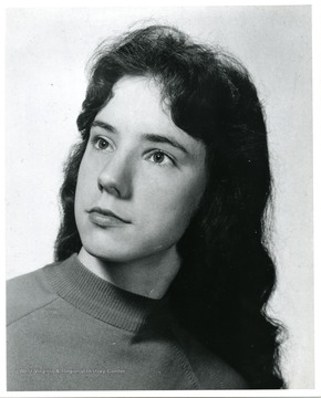 A portrait of Louise Dawson of Morgantown, West Virginia.