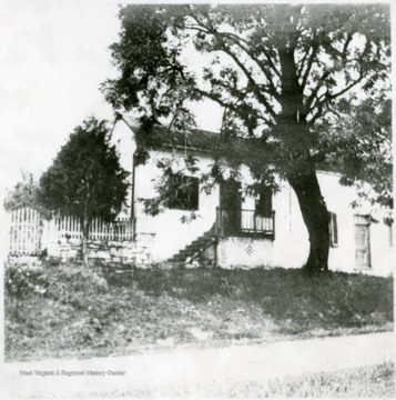Old Sheetz house, on site of present Lutheran church, on southwest corner of King and High Street.