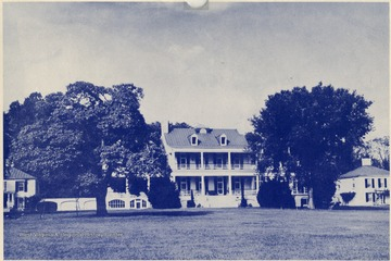 'Claymont- one of the Washington Homes near Charles Town, W. Va.'