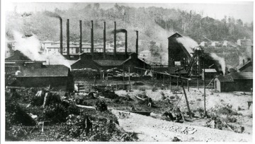 The Davis Coal and Coke Company shown operating on line of the West Virginia Central  and Pittsburgh Railway Company.