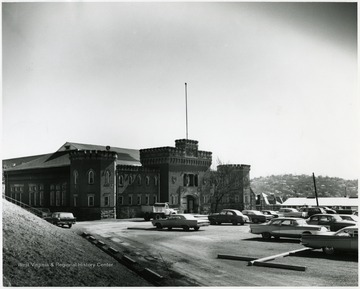 'Armory, wrecked Spring 1965.'