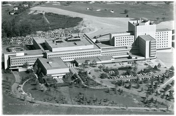 Aerial view of the Medical Center.