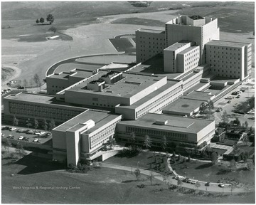 Aerial view of Medical Center.