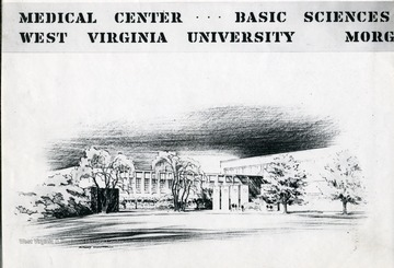 Sketch of the Medical Center.