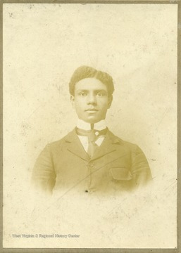 Portrait of African-American student, Lorenzo S. Bird of Gettysburg, Pa.