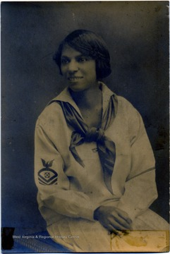 Portrait of African-American student Mabel S. Young, Class of 1904.