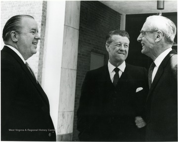 Left to Right:  James G. Harlow, Harry Heflin, Irvin Stewart.