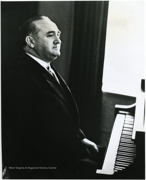 'Famed Russian pianist Yakov Zak appeared here Feb. 8, 1967 as a cultural event of the 100th Anniversary observance.'