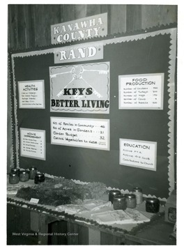 First Place Display of 'Keys to Better Living' at the State Fair.