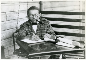Karl Myers (1899 - 1951) from Tucker County, appointed as the first 'West Virginia's Poet Laureate' in 1927.