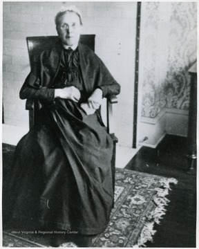 'Rhoda Brooks Fleming, just before her death in 1905.'