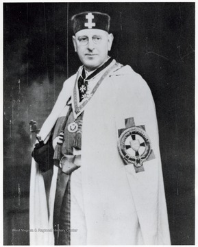 'Eminent Commander of the Priory; Knights Templar, West Riding, Yorkshire'