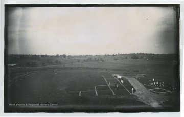 N.W view of Antietam National Cemetery from Hagerstown Pike.  (157 93 D.I.C) included on back.