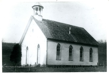 This church burnt down on Jan. 13, 1913.