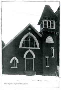 The church stands on a part of Walnut street between High and Spruce Streets.