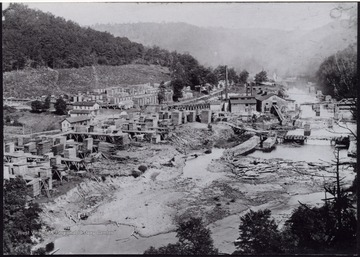 """This mill was for the Cherry River Boom Lumber Co., Gauley Mills was first known as Camden on Gauley."""