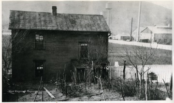 A five room house with nine occupants, seven were boarders.