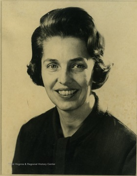 Wife of West Virginia Governor Hulett Carlson Smith (1965-1969).