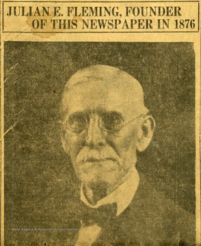 Fleming and partner W. L. Jacobs started the newspaper in 1876 as a weekly. In 1897 the newspaper began daily publication.