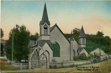 Colored postcard photograph. See the back of the original image for correspondence.