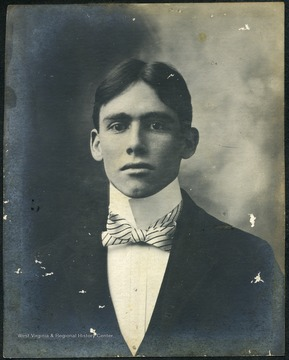 A West Virginia University student, member of the Class of 1900 and a resident of Episcopal Hall.