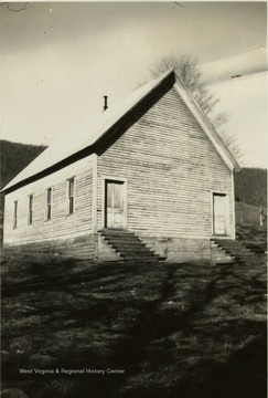 Built in 1904 and as of 1940, the only church in Pocahontas County built by the Brethern.