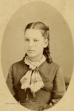 Young lady, probably of teen age.