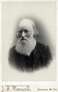 Father of Hu Maxwell. Cabinet Card.