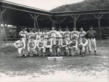 First row, L to R: Richmond, Wiseman, Stewart, Keaton, Hess, Carden, Kerr, Harvey.  Second row, L to R: Shirey, Scott, Ratliff, Webb, Phipps, McCormic, Humphries, Brown, Willey, and Porterfield.