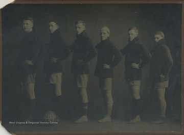 Team portrait of unidentified players.