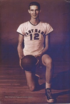 West played as the team's starting small forward. He was named All-State from 1953–56, then All-American in 1956 when he was West Virginia Player of the Year, becoming the state's first high-school player to score more than 900 points in a season.He would go on to play for West Virginia University from 1956-1960, and then for the Los Angeles Lakers from 1960-1974.